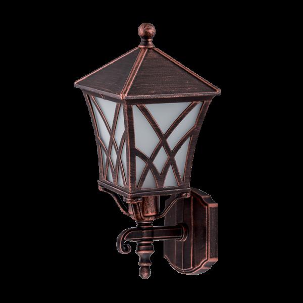 Elmark ALEK antik réz oldalfali lámpa, E27