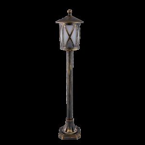 Elmark ERIK antik sárgaréz állólámpa, E27