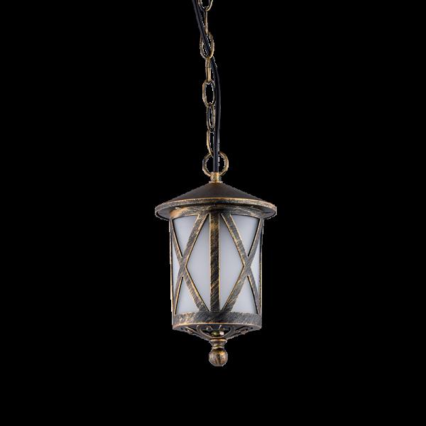 Elmark ERIK antik sárgaréz mennyezeti lámpa, E27