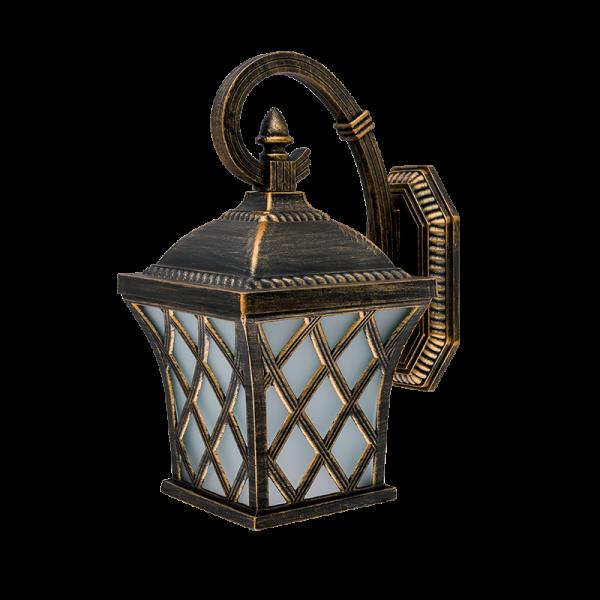 Elmark JOSH antik-sárgaréz oldalfali lámpa, E27
