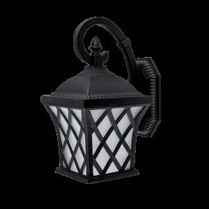 Elmark JOSH matt-fekete oldalfali lámpa, E27