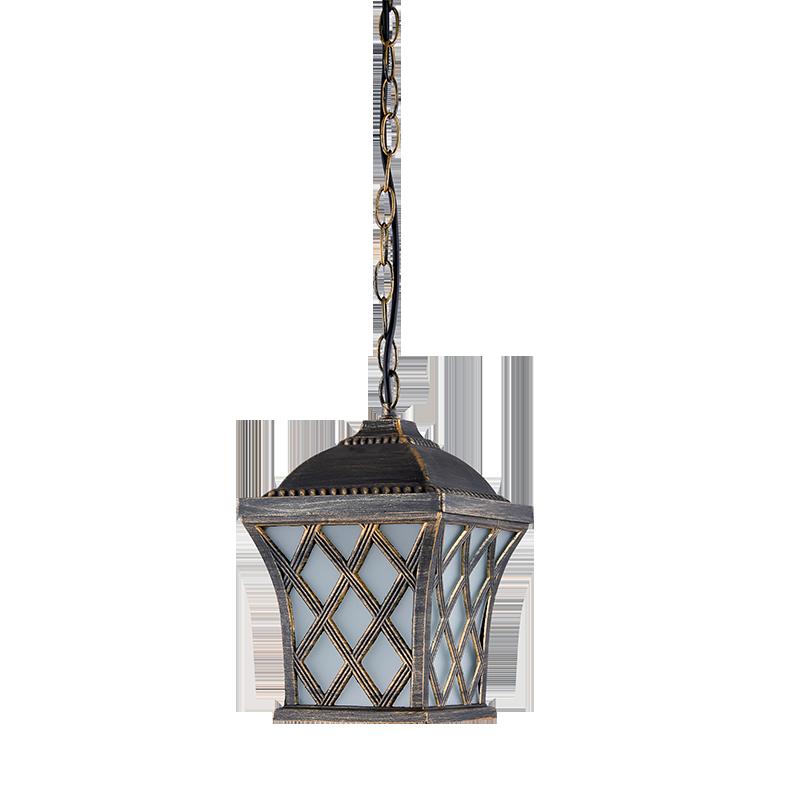 Elmark JOSH antik-sárgaréz mennyezeti lámpa, E27