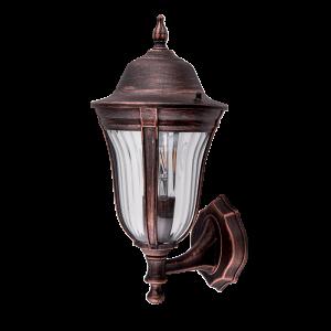 Elmark MARK antik-réz oldalfali lámpa, E27
