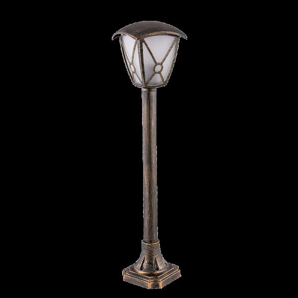 Elmark NICK antik sárgaréz állólámpa, E27