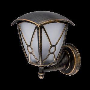 Elmark NICK antik sárgaréz oldalfali lámpa, E27