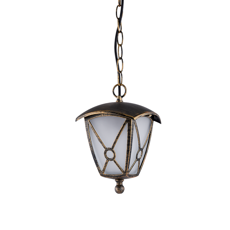 Elmark NICK antik sárgaréz mennyezeti lámpa, E27