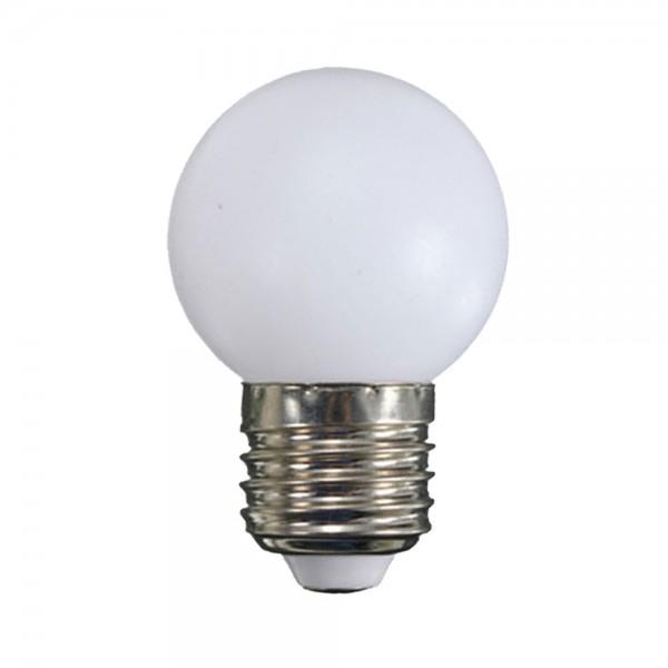 Fehér LED lámpa E27 1 Watt