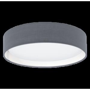 textil, mennyezeti lámpa LED 11W 32cm szürke Pasteri