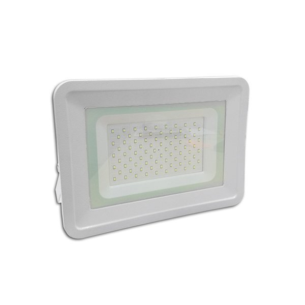 LED reflektor, 50 W, SMD SLIM series, hideg fehér UTOLSÓ DARAB!
