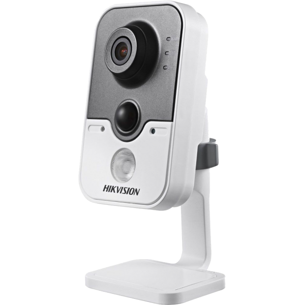 Hikvision Cube IP kamera, 1 Megapixel, Wifi, POE, DS-2CD2410F-IW(2.8MM)(PSU),