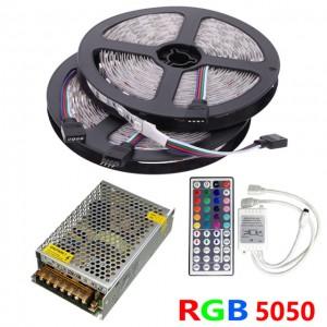 Akciós LED szalag szett 10 méter RGB-30LED/m