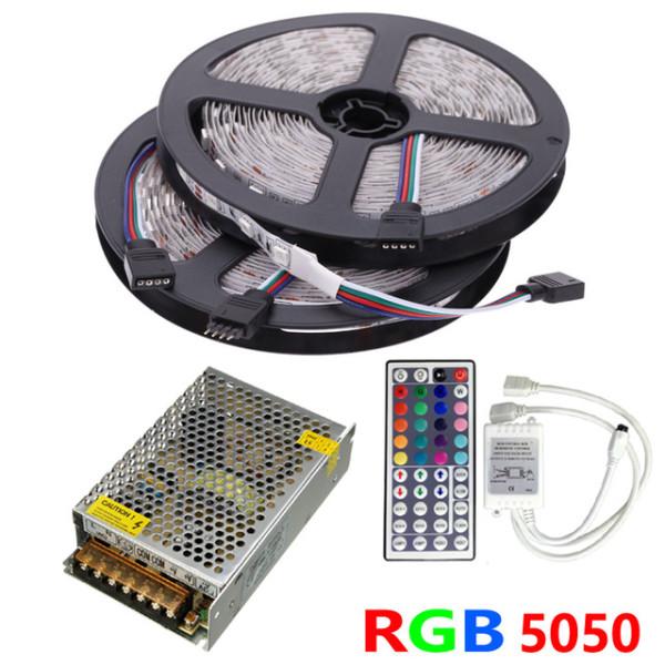 Akciós LED szalag szett 10 méter RGB -60LED/m