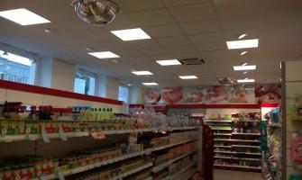 Új világítás a Rossmann boltokban