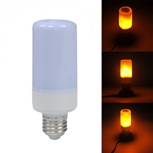 LED láng hatású izzó, 3 féle funkcióval Elmark
