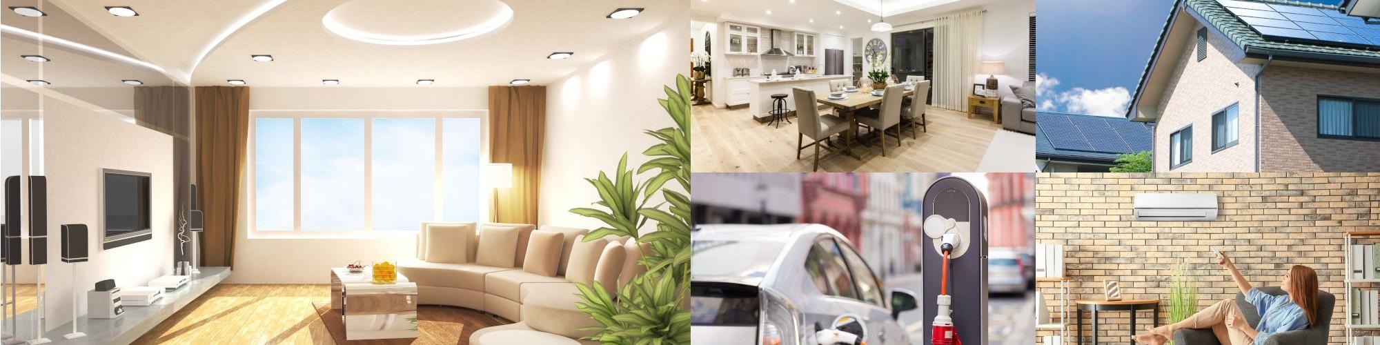 Energia Háza LED Klíma Napelem E-mobilitás