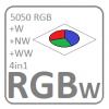 RGBW szalag