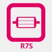R7S vonal égő