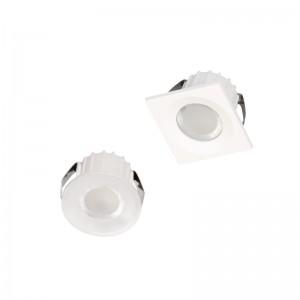 ANGEL EYE Mini mélysugárzó LED lámpa 230V 3W 4000K 270lm 30fok kerek fehér