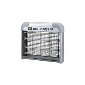 2R Kill Pest Rovarölő Lámpa 2x20W 230V Acélszürke