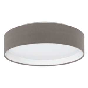 textil, mennyezeti lámpa LED 11W 32cm barna Pasteri