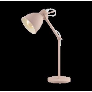 EGLO PRIDDY-P íróasztali lámpa- pasztell barack