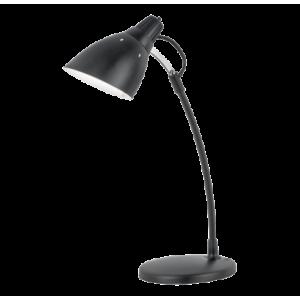 asztali lámpa 1*60W E27 47cm fekete Top desk