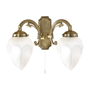 EGLO IMPERIAL húzókapcsolós fali lámpa 2 ágú