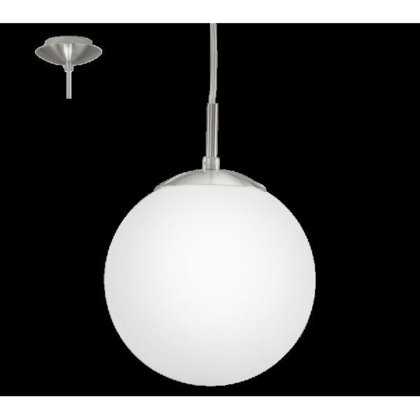 Rondo függeszték 1xE27 matt-nikkel 200 mm