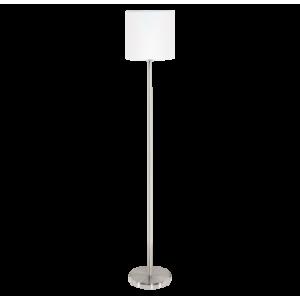 Textil állólámpa E27 60W fehér Pasteri