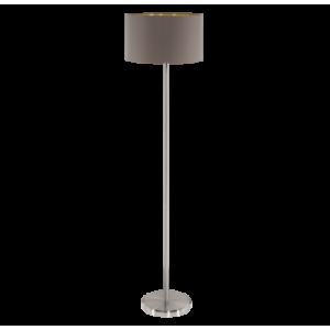Textil állólámpa E27 60W cappucino Maserlo