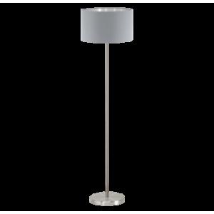 Textil állólámpa E27 60W szürke Maserlo