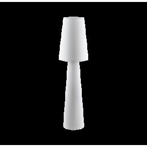 Textil állólámpa  fehér Carpara