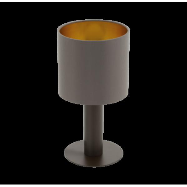 asztali lámpa E27 1x60W barna Concessa-1