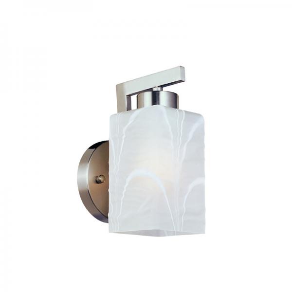 Alice nikkel fali lámpa, 1xE27, IP20