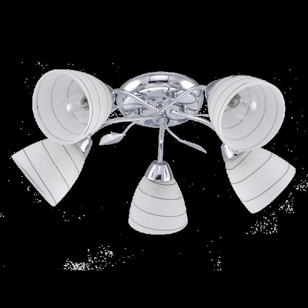 Calla króm csillár, 5xE14, IP20
