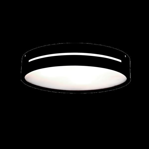 Donna fekete-fehér mennyezeti lámpa, 3xE27, IP20