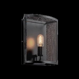 Blake fekete vintage fali lámpa, 1xE27, IP20