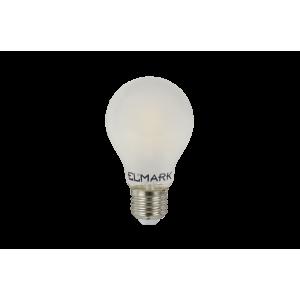 LED filament gömb 4W-os melegfehér fényforrás, A60, E27