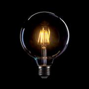 LED filamnet vintage fényforrás, melegfehér, 8W, G125, E27