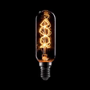 Vintage izzó, melegfehér fény, 40W, E14, T25