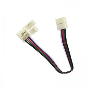 Flexibilis csatlakozó LED szalagokhoz RGB+WH 10mm