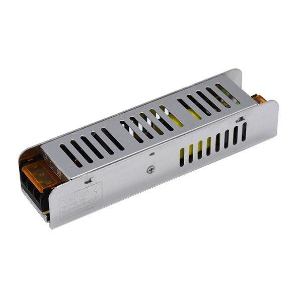 SLIM ipari tápegység LED szalagokhoz, 100W, 12V, 8,5A, IP20