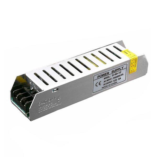 SLIM ipari tápegység LED szalagokhoz, 150W, 12V, 12,5A, IP20