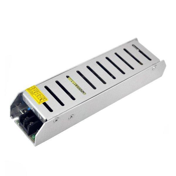 SLIM ipari tápegység LED szalagokhoz, 250W, 24V, 10A, IP20