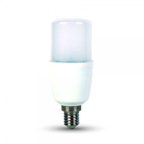 LED gyertya meleg fehér fénnyel, E14, T37, 9W, 2700K, IP20