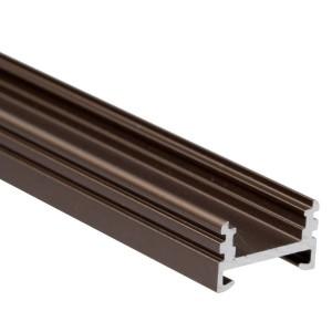BC06 felületi alumínium profil, bronz