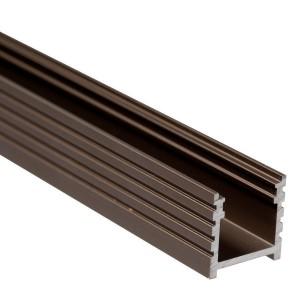 BC10 felületi alumínium profil, bronz