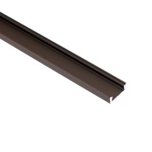 BC11-Z felületi alumínium mikro profil, bronz