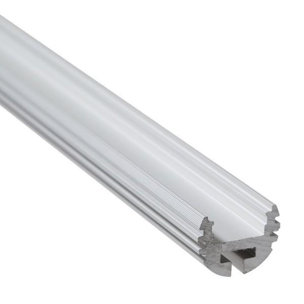 XC07 akasztórúd alumínium profil, ezüst, utolsó 8 méter
