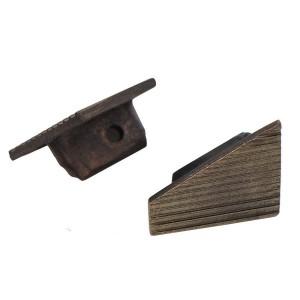 KONC-BC15 bronz végzáró, csúsztatható